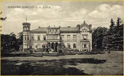 Ein alter Blick auf das Schloß.  Alle Fotos: Schloßhotel Mostov