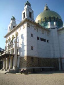 Otto Wagner Kirche am Steinhof. Foto: oepb