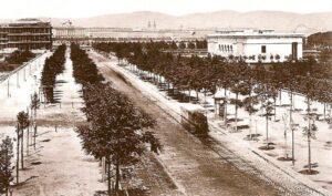 Der Burgring im Jahre 1872