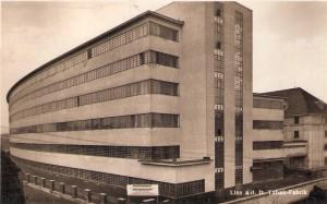 Blick auf die Linzer Tabakfabrik des Jahres 1935. Foto: privat/oepb