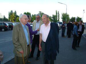 Norbert Lopper (links) und Hans Menasse. Foto: oepb.at