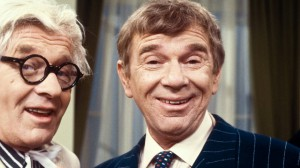 Ossy Kolmann (rechts) mit Maxi Böhm. Zwei wahre Granden des Österreichischen Humors. Foto: ORF