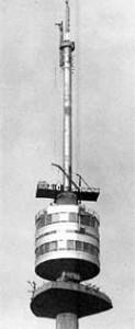Im Feber 1964 liefert der Stahlbau das Dreh-Restaurant mit 18m Durchmesser, das in 156m Höhe am Wiener Donauturm montiert wurde.