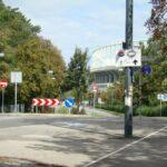 Blick über die Prater Hauptallee in Richtung Ernst Happel-Stadion