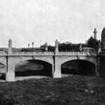 Die Elisabethbrücke 1895