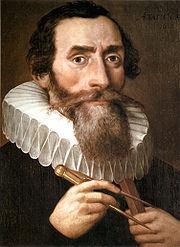 Johannes Kepler um 1610