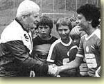 Leopold Stastny  war nicht nur der Erfinder der Schülerliga, sein Herz galt seit jeher dem fußballerischen Nachwuchs.