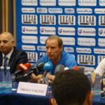 Aserbaidschan-Teamchef Berti Vogts.