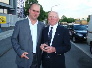 Zeitzeuge Karl Stotz (rechts im Bild). Foto: oepb