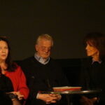 V.l.: Sylvia Lukan, Martin Schwab und Moderatorin Brigitte Hofer.