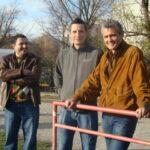 Aufmerksame Besucher waren unter anderem die Ex-Profis und nunmehrigen Trainer Hans Slunecko (links) und Slobodan Batricevic.