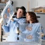 Dr. Angelina Whalley & Dr. Gunther von Hagens Foto: Institut für Plastination, Heidelberg