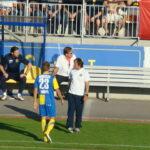 Zum Bild Alfred Tatar: Vienna-Trainer Alfred Tatar (weißes Polo)