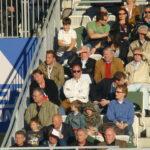 Österreichs Jahrhundert-Spieler Herbert Prohaska (weißes Hemd, Sonnenbrille) Sein Vater war glühender Anhänger der Blau-Gelben aus Wien-Döbling.