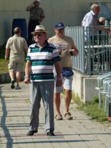 Herr Anton aus Wien III ist ein langjähriger LAC-Anhänger und auch Zeitzeuge. Foto: oepb
