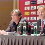 Dietmar Constantini (links), Leo Windtner