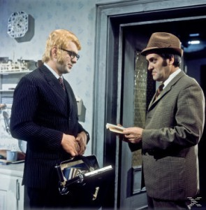 tatort Mordverdacht (1971): Links Herwig Seeböck, rechts Kurt Jaggberg.