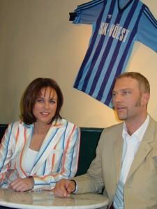 Jürgen Müller war 2003 Gast bei Vera Russwurm.