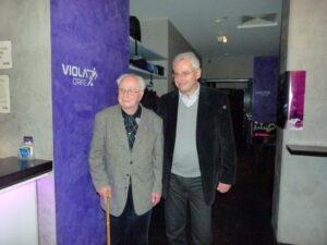 Norbert Lopper (links) und sein Sohn Pierre. Foto: oepb