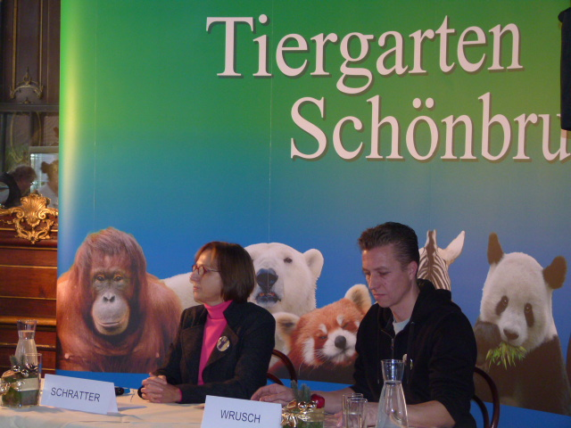Dagmar Schratter und Heiko Wrusch