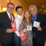 V.l. KR Maximilian Platzer, Markus Muliar, Ulrike Beimpold, Roland Tomrle Verlag Schwarzer