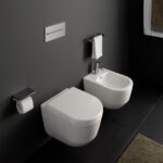 Wand-WC und -Bidet von Laufen pro spart PLatz, Foto Laufen 1