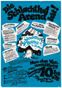 Arena Plakat 1976 Sammlung Wien Museum