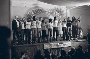 Arena Theater 1976, Foto: Burgi und Peter Hirsch, Sammlung Wien Museum