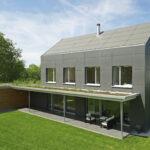 Integral-Plan: Homogenität auf Dach und Fassade Foto: Eternit