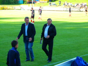 Karl Daxbacher (links) und Antonin Panenka.