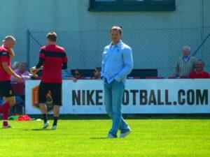 Überaus positiv gestimmt vor dem Spiel war Simmering-Coach Christian Prosenik.