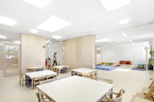 Kindergarten-Neubau in Neufeld an der Leitha. Foto: Kurt Kuball
