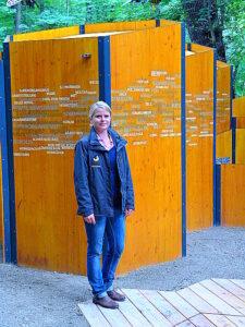 Schönbrunner Zoologin Simone Haderthauer