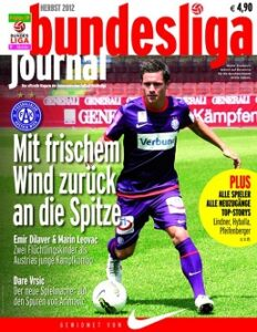 Bundesliga-Cover Edition FK Austria Wien.
