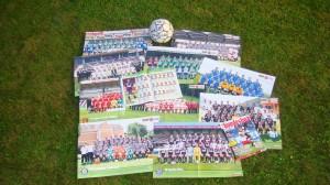 10 Din A2-Poster für 10 Bundesligisten.