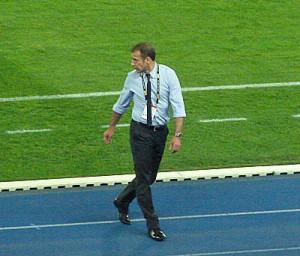 Türkei-Teamchef Abdullah Avci.