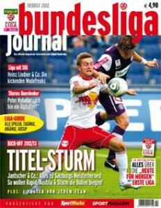 bundesliga journal/Herbst 2012-Cover