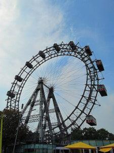 Seit 1897 in steter Drehbewegung, das Wiener Riesenrad.
