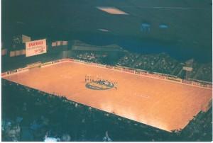 ... oder aber hoch droben aller herrlich überblickend am Juchee - der Reiz der Stadthalle bestach durch all die Jahre.