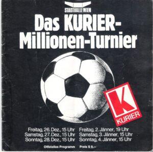 Das offizielle Turnier-Programm von 1975/76.
