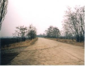 Die Mitte der Alten Bundesstraße war die Staatsgrenze. Foto: oepb