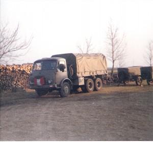 Die alten Steyrer Diesel versahen prächtig ihren Dienst. Foto: oepb