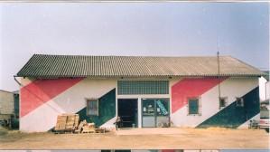 Eine ausrangierte Halle in Nickelsdorf diente als unsere Unterkunft. Foto: oepb