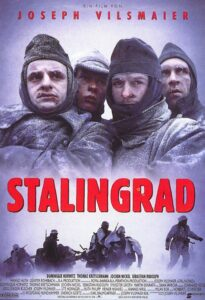 Film-Plakat Stalingrad von Joseph Vilsmaier.