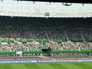 31.800 Besucher pilgerten am 21. August 2011 zum 298. Wiener Derby RAPID gg. Austria (0 : 3) in den Wiener Prater. Foto: oepb