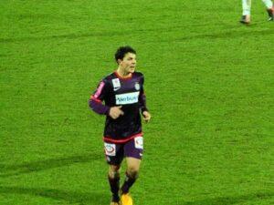 Erneut zwei Tore an diesem Abend gelangen Top-Goalgetter Philipp Hosiner. Foto: oepb