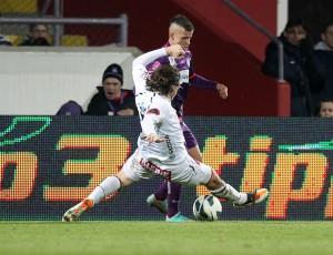 Der 19jährige Austrianer Srdan Spiridonovic war in der zweiten Halbzeit bemüht, es gelang aber auch ihm nicht viel. Foto: GEPA