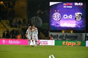 FUSSBALL - BL, A.Wien vs WAC