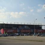 Das Flutlicht der nunmehrigen Generali-Arena im Wandel der Zeit. Hier am 14. Mai 2011 ... Foto: oepb