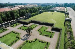 Kronprinzengarten mit Gartenbereich - Die Meidlinger Kammergärten sind ab 1750 dokumentiert. Foto: Michalski